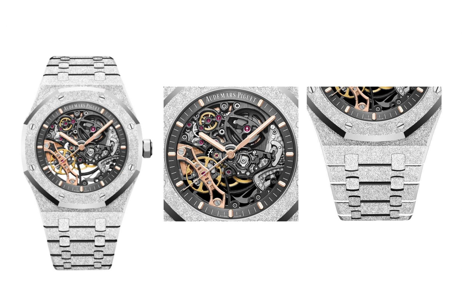 Gift Ideas For Him - Audemars Piguet Royal Oak Frosted Gold Double Balance Wheel Openworked