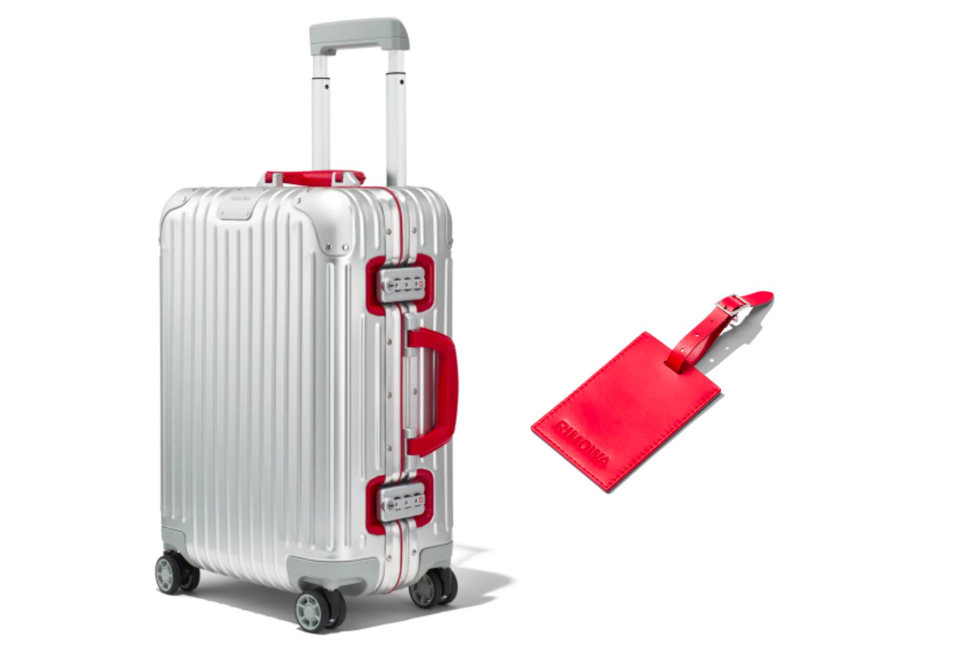 Gift Ideas For Him - RIMOWA Cabin Twist Carry-On Luggage.