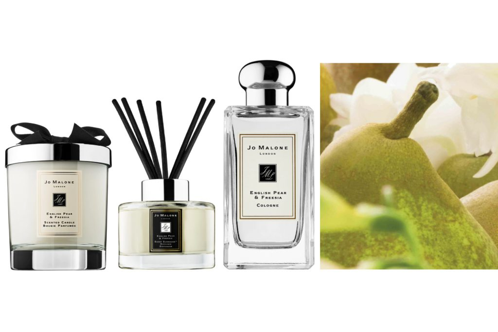 Jo Malone English Pear & Freesia, Scented Candle, Diffuser, Cologne.