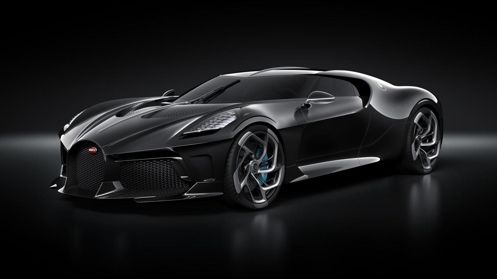 Bugatti La Voiture Noire. Credit: BUGATTI Newsroom