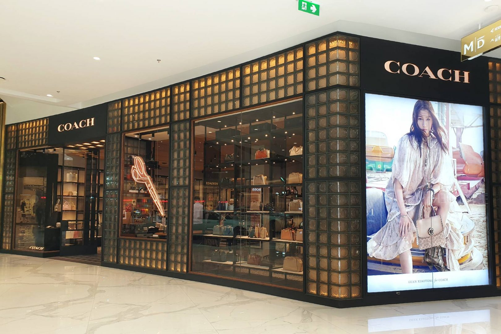 Coach storefront in Thailand. Source: TY Lim / Shutterstock.com