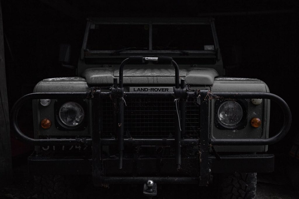 Land Rover Defender Classic. Credit: Dillon Shook / Unsplash
