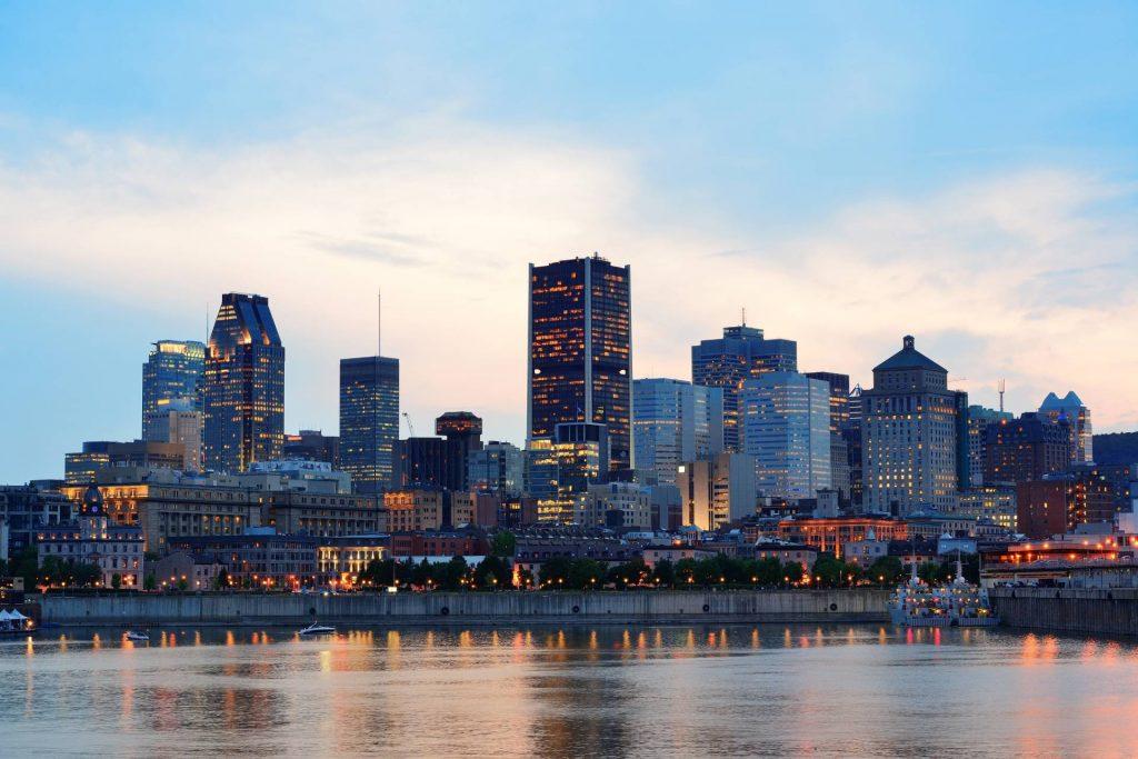 Montreal sunset. Credit: Songquan Deng / Shutterstock