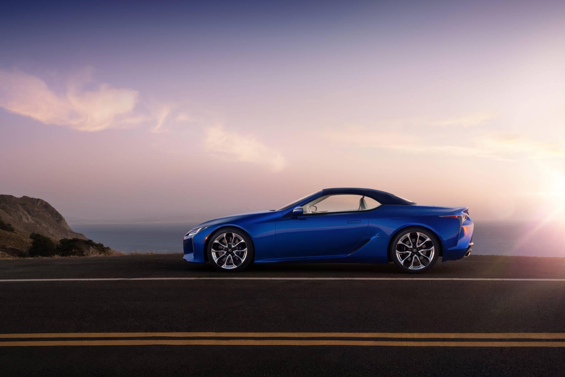 Lexus LC 500 Convertible Inspiration Series. Credit: Lexus USA Newsroom