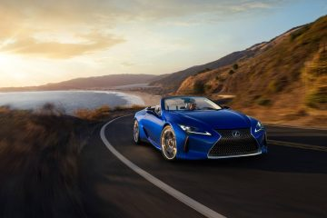 Lexus LC 500 Convertible Inspiration Series. Credit: Lexus USA Newsroom