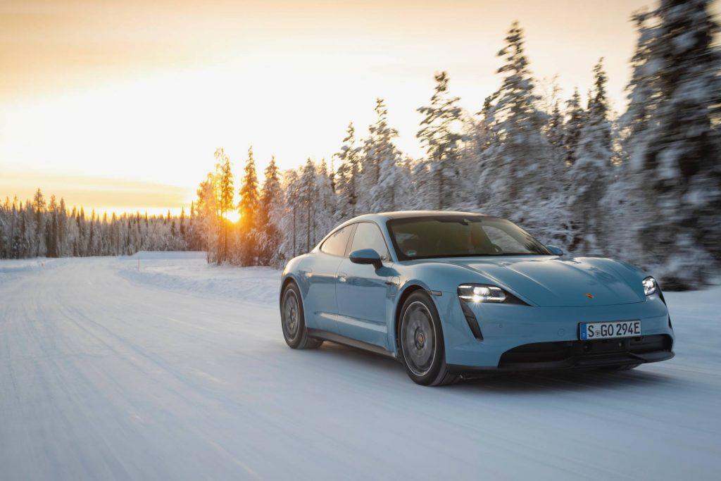 Porsche Taycan exterior. Source: Porsche Newsroom