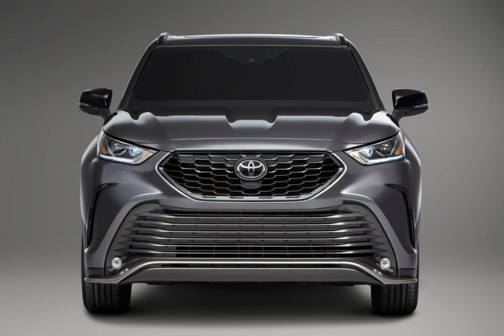 2021 Toyota Highlander XSE. Credit: Toyota Newsroom