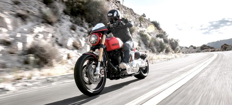 Arch hero motorcycle red