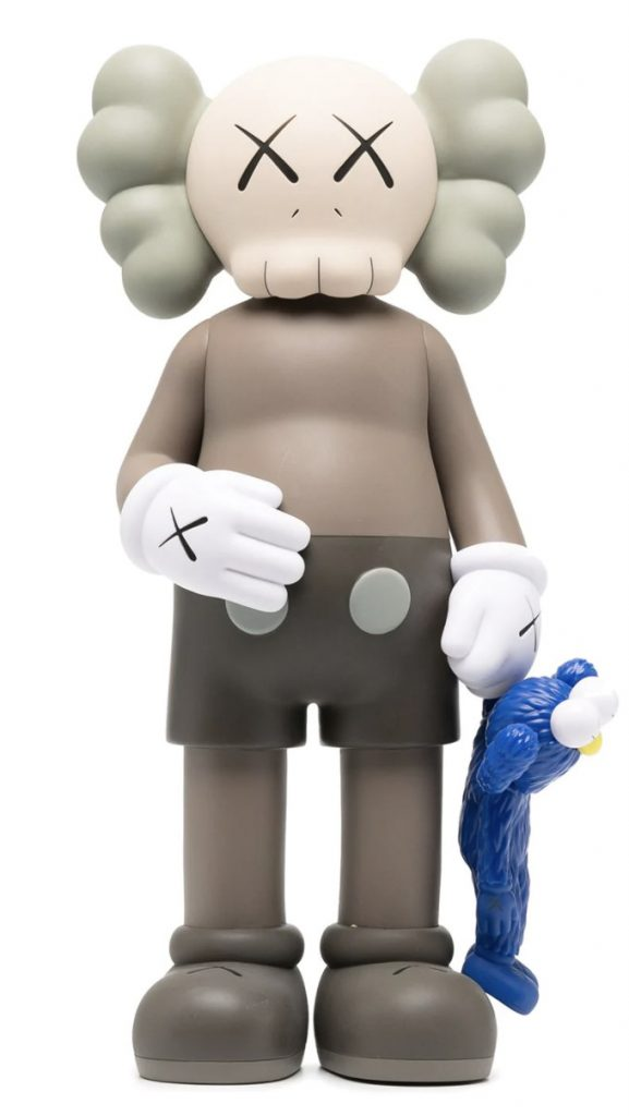 KAWS Mickey Mouse & Cookie Monster